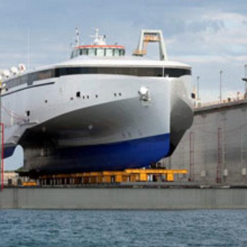 Australian Marine Complex Floating Dock